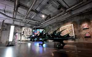 文化や芸術を発信するイベントスペース(大阪市中央区の心斎橋パルコ)