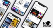 アート作品の通販やSNSを搭載したアプリ「アートスティッカー」