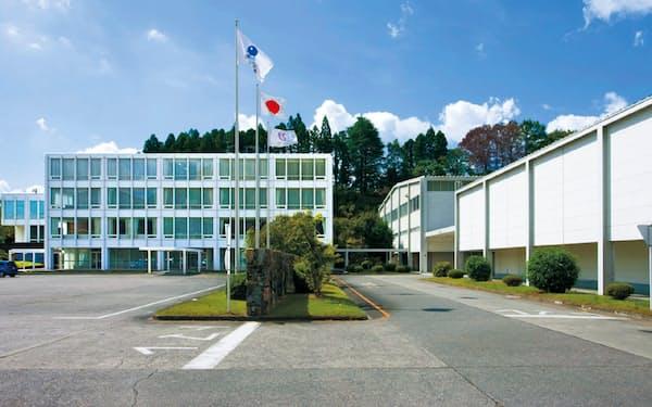 川島織物セルコン(京都市)の本社