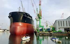 海外の競争法上の関係で今治造船とJMUは新会社の設立などを延期する