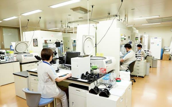 第一三共は、品川研究開発センター(東京・品川)を中心に抗がん剤などの研究開発を進めている