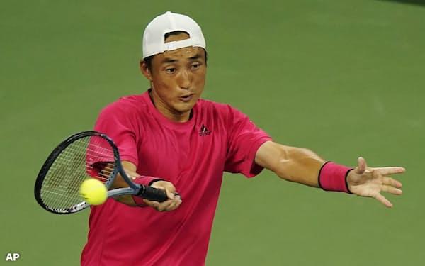 添田は長期離脱が少なく、9月の全米オープンにも出場した=AP