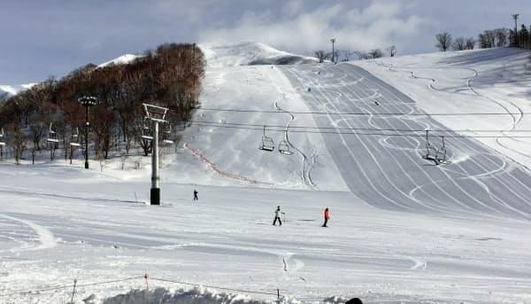 スキーシーズンに向けて新型コロナ対策に力を入れる