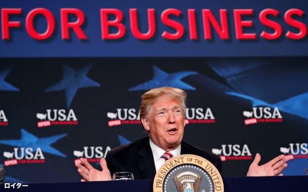 トランプ大統領を誕生させたのは、大企業による寡占化と政財界での腐敗が進んだ結果ではないかと筆者は指摘する=ロイター