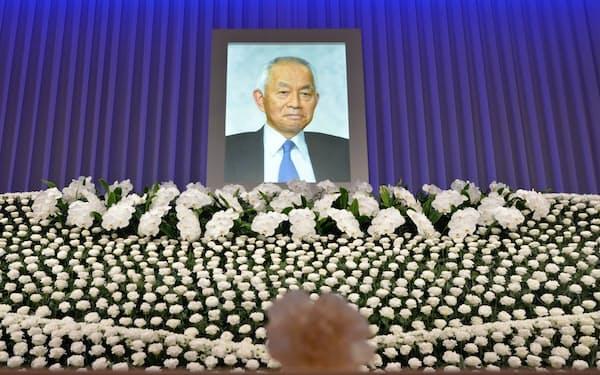 都内で開かれた西川善文氏のお別れ会