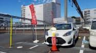 常磐線の特急停車駅からカーシェアをスムーズに利用できる=JR東日本水戸支社提供