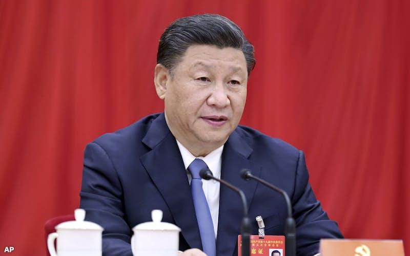 中国の習近平国家主席はバイデン氏に祝電を送った=AP