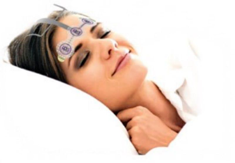 S'UIMINが開発した睡眠計測サービスに使う機器は簡単に装着できる