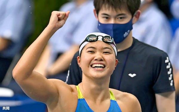 日本選手権では日本記録の更新が期待される=共同