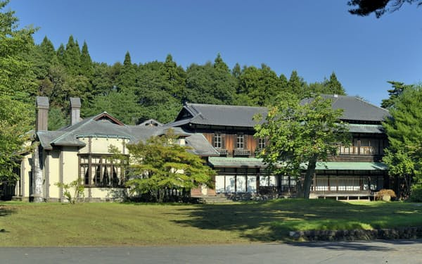 清水建設は青森県六戸町にあった旧渋沢邸を江東区内で再築する