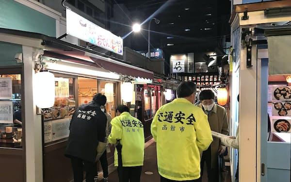 北海道函館市は観光客を呼び込みつつ感染防止に努める