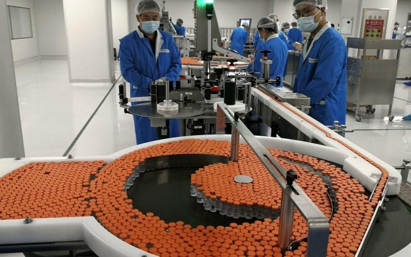 中国ワクチン、足踏み 予防効果が不十分との指摘