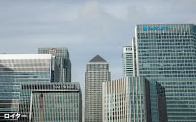 世界の金融大手は英ロンドンに欧州拠点を構えてきたが…=ロイター
