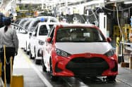 日本国内や中国が生産回復をけん引する(トヨタ自動車グループの工場)