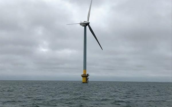 経産省は千葉県や秋田県沖の海域で洋上風力発電事業者の公募を開始した(写真は東電HDが運営する洋上風力発電所)