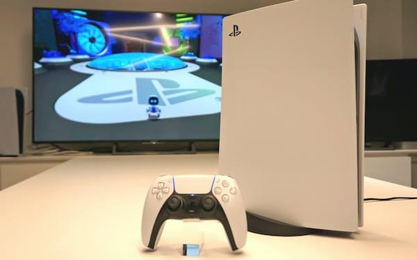 ソニーが12日に発売した家庭用ゲーム機「プレイステーション(PS)5」