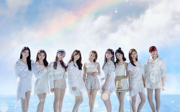 12月2日に本格デビューする9人組女性アイドルグループ「NiziU」