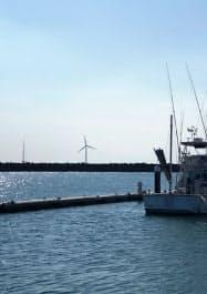 銚子市沖では東京電力ホールディングスが実証実験を経て2019年から洋上風力発電を商用運転する