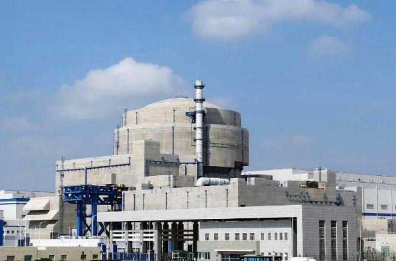 発電を始めた福清原子力発電所の華竜1号(中国核工業集団のサイトから)