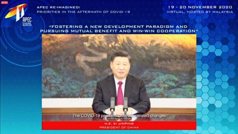 中国の習近平国家主席はTPPへの参加を積極的に検討するというが=ロイター