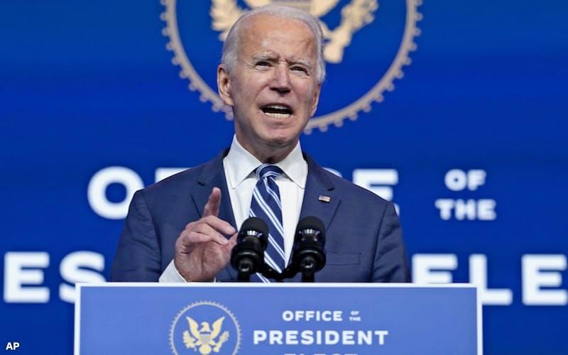 78歳のバイデン前米副大統領は史上最高齢で大統領に就任する見通しだ=AP