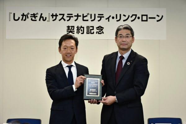 滋賀銀など地銀16行は新電力のシン・エナジーに環境対応型の協調融資を実施した