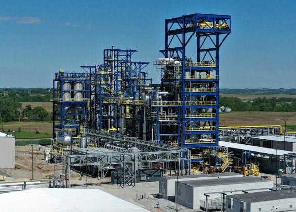 三菱重工が出資したモノリス社が米国ネブラスカ州で運転中の商用規模プラント
