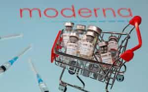 米モデルナのコロナワクチンは、17日のFDA会合で審議される=ロイター