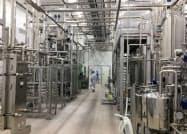 マルサンアイ傘下、匠美の豆乳工場の内部