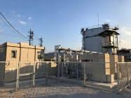月島機械は京都府亀岡市の下水処理場で消化ガス発電設備を稼働させた