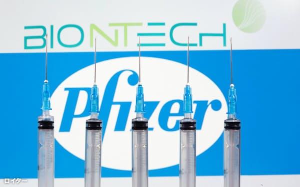 米ファイザーと独ビオンテックが開発するワクチンは臨床試験(治験)で高い効果を確認した=ロイター