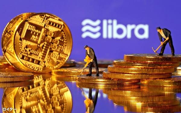 フェイスブックが主導するデジタル通貨「リブラ」が、「ディエム」に改名された=ロイター