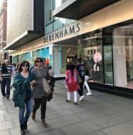 ロンドン中心部のデベナムズの店舗(2019年4月)
