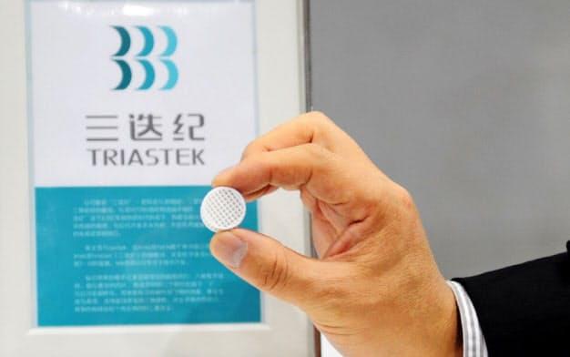 医薬品を3Dプリンターでつくる(Triastek提供)