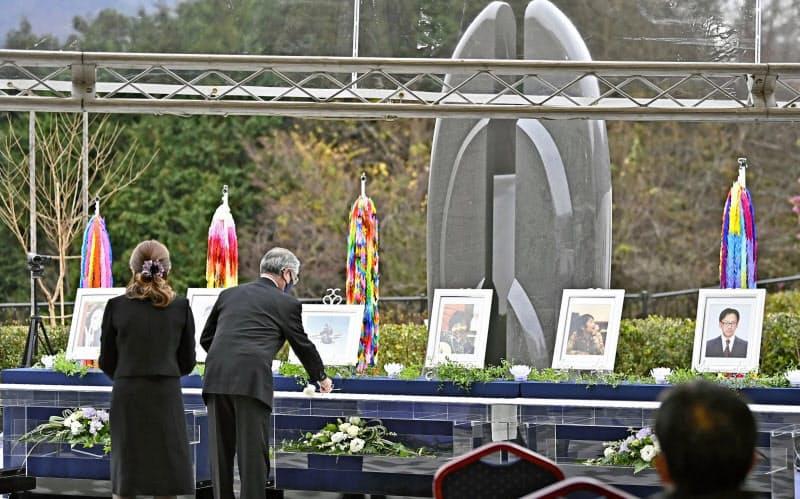 「思い出さない日ない」 笹子事故8年、遺族ら献花