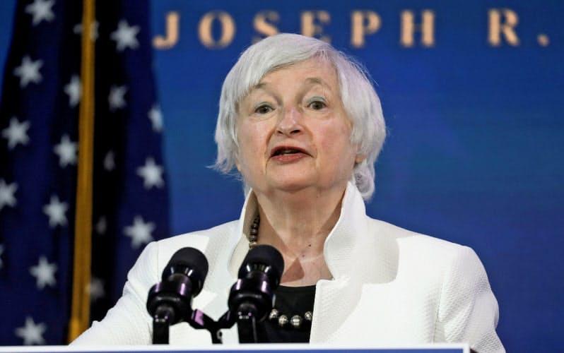 次期財務長官に指名されたイエレン氏は、為替政策に関してドル安誘導で市場を混乱させることはなさそうだが=ロイター