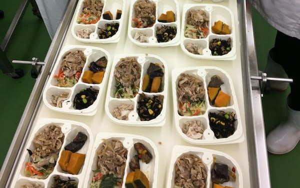 ニッショク(長野県松本市)は長野銀行のサポートで冷凍弁当事業の展開を加速する