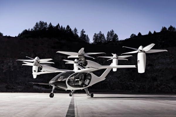 ウーバーと交渉中のジョビー・アビエーションが開発している垂直離着陸機