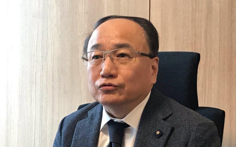 「AIやRPAの実装を進める」と話す渋谷区の澤田副区長