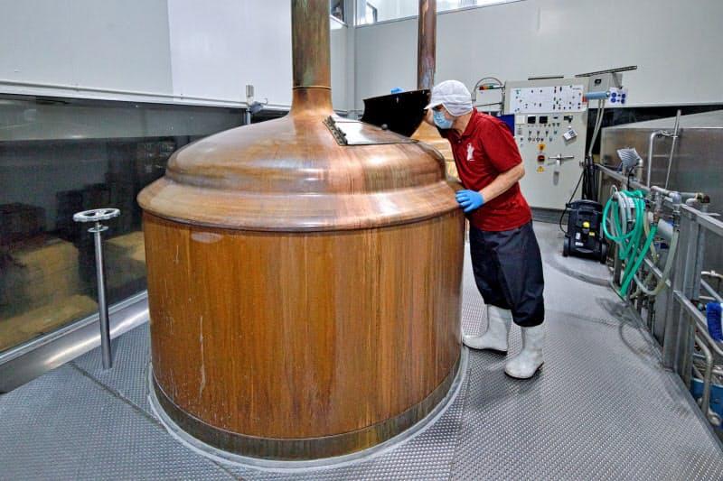 水の良さを生かしたビールづくりに取り組む沢内醸造所(岩手県西和賀町)