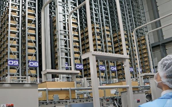 シードが鴻巣研究所(埼玉県鴻巣市)に新設した製品倉庫棟