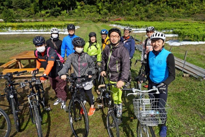 鳥取ではサイクルガイドの養成講座が始まった