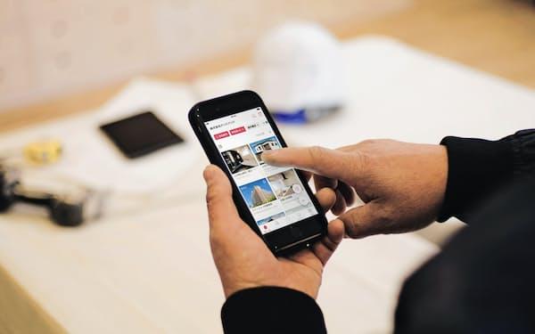 アンドパッドは建設業の施工管理アプリを提供
