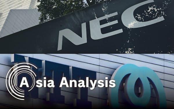 NECとNTTはかつてアジア市場の開拓に成功しかかっていたが…