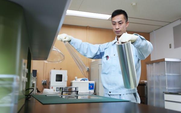凸版印刷総合研究所の矢沢直輝さんは裁量労働に切り替わった(埼玉県杉戸町)
