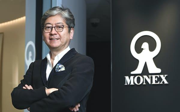 マネックスグループ社長 松本大氏