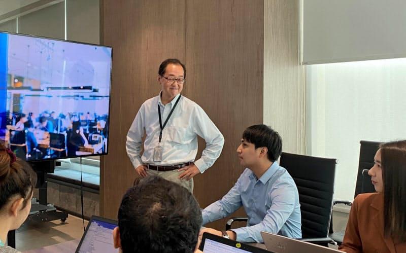 タイで働くシニア社員の菅原さん