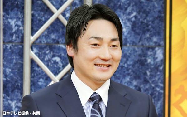 CS放送の公開収録に出演し、ソフトバンクへの雪辱を誓った巨人・丸(23日)=日本テレビ提供・共同