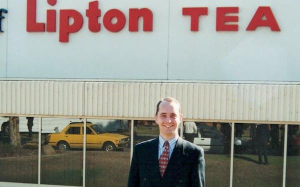 ビール以外も手掛けたいと考えて日本リーバに転職し、紅茶の「リプトン」を担当