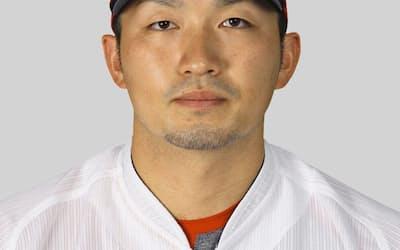プロ野球広島の鈴木誠也外野手=共同